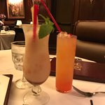 Lava flow and other fruity drink