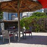 Restaurant de plage.