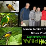 Marvin Ramirez, one of our wildlife experts. Monteverde Wild Hikes