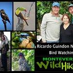 Ricardo Guindon, wildlife expert from Monteverde Wild Hikes
