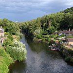 View down the Severn from the Iron Bridge