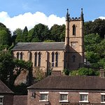 Ironbridge church from the bridge