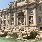 Foto van Trevi-fontein (Fontana di Trevi)