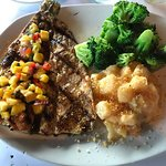 rainbow trout and sides