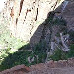 Part of the Angel's Landing Trail