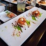 Oyster & shrimp sliders