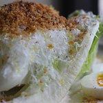 Caesar salad, Bagna Cauda, Pecorino Romano, Egg, Breadcrumb