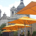 Rooftop Patio with Views of the Basilica