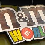 M&M巧克力世界照片