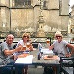 In Olomouc, Czech Republic  for a lunch stop enroute to our destination
