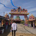 Temple hinduiste à Batticaloa