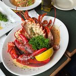 Great seafood and friendly service