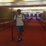 American Adventure - after the show