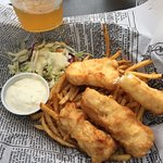 Great halibut & chips!