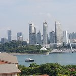 View of Singapore from Sentosa