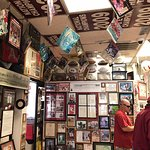 One view of the inside. It's loaded with Bama memorabilia! Great Place!
