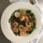 Seared Prawn Salad