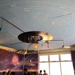 Working scale model of the solar system