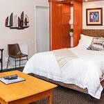 Our executive suite with parking directly off your room