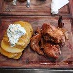 The Sticky Chicken & Loaded Potato