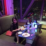 Dinner with magnificent view
