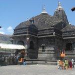 Trambakeshwar (Trimbakeshwar) is an ancient Hindu temple in the town of Trimbak, in the Nashik