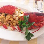 capellini d'angelo with lobster
