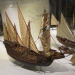 展示的模型船隻