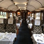 The interior of our carriage