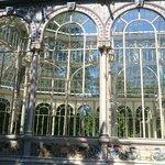 Palacio de Cristal finitura del tetto con piombo e vetro