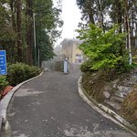 Road of Himalayan Mountaineering Institute