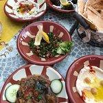 menu les cèdres du liban