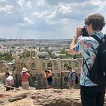 View from the Acropolis slopes