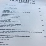 Foto de Lanternen Restaurant