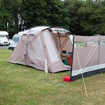 The tent!