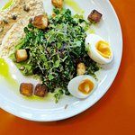 Green Goddess - a bountiful, colourful and satisfying breakfast plate