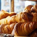 Light, flaky, golden croissants