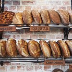 An array of breads to take home and share