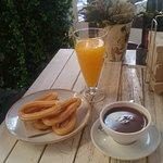 churros e cioccolata per merenda