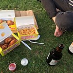 Perfect meal to have in the park