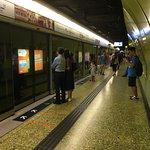 Inside Wan Chai station