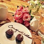Little congratulations cupcakes...