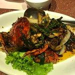 蟹のペッパーソース