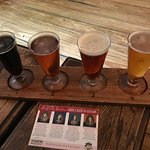 Beer Flight - Washington - Jefferson - Franklin - Hamilton