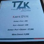 Foto van Tzk Tables Ze Komptoir