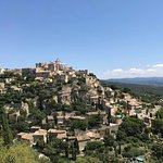 Hill top town of Gordes