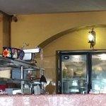 neat open kitchen