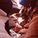 Foto van Lower Antelope Canyon