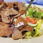 Lamb Gyro Plate (once it has been dented a bit)