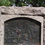 ME - WELLS - STORER GARRISON SHS - CLOSE UP OF COMMEMORATIVE MONUMENT